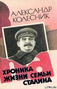 Хроника жизни семьи Сталина - Колесник Александр Николаевич