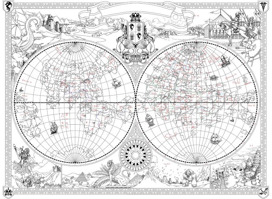 Лунный скульптор. Книга 12 (ЛП) - maps.jpg