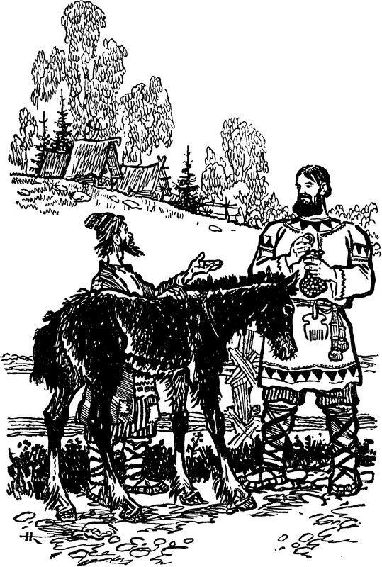 Русский богатырь Илья Муромец<br />(Былины в пересказе для детей И. Карнауховой) - i_004.jpg